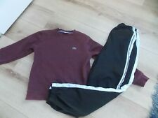 BOYS LACOSTE TRACKSUIT BOTTOMS JUMPER AGE 14 YEARS