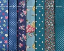 Cath Kidston Interior Craft Fabric Fat Quarters, Bundles