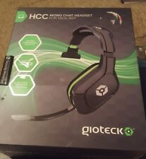 NEW! Gioteck HCC Wired Mono Chat Headset for Xbox 360