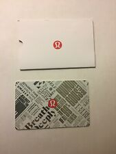 Lululemon Giftcard $150.00 - BRAND NEW/NEVER USED