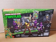 Mega Bloks Teenage Mutant Ninja Turtles New Rocksteady Lego Classic TMNT