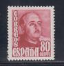 ESPAÑA (1948/54) NUEVO SIN FIJASELLOS MNH - EDIFIL 1023 (80 cts) FRANCO - LOTE 1