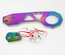 Universal Multi-Color Rear Tow Hook Password Aluminum