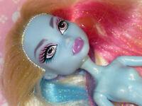 Mattel Monster High Doll ABBY BOMINABLE NUDE NAKED for OOAK or Custom Tinsel
