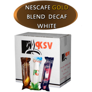 Nescafe Gold Blend White DECAF for 73mm In-Cup Vending Machines  Drinks x300