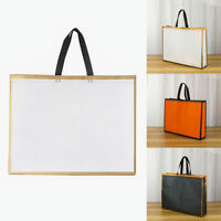 Foldable Shopping Bag Women Waterproof Thick Portable Handbag Large Capacity