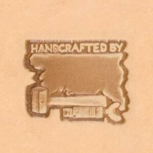 Ivan 3D Leather Stamp - Handcrafted By (88400-00)