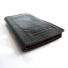 genuine vintage leather case for nokia lumia 920 book wallet cover thin brown uk