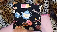 AUTHENTIC INNOCENT WORLD TEA TIME PRINTS PILLOW CUSHION LOLITA
