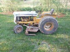 "Cub Cadet Lowboy 185 Lawn Mower Tractor 60"" deck, 4 cyl, ready to mow WILL SHIP"