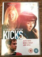 Kicks DVD 2008 Británico Adolescente Drama Película Con / Nichola Burley Y Jamie