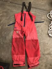 Musto HPX Rain Pants Used XXL Sailing Boat Yacht Goretex Made in New Zealand