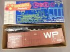 HO SCALE ROUNDHOUSE WESTERN PACIFIC 50' HI-CUBE BOX CAR KIT NOS