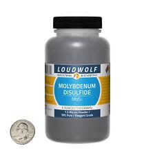 Molybdenum Disulfide / 6 Oz Bottle / 99% Pure Reagent Grade / 1.5 Micron Powder