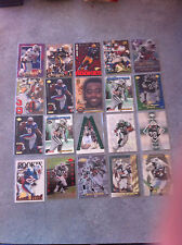 Curtis Martin 20 Card Lot All High End Inserts & Rookies New York Jets