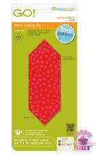 Accuquilt GO! Fabric Cutting Die Signature Block Quilt Maker Sewing 55356