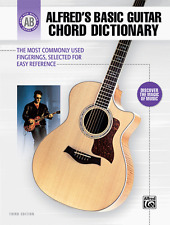 """Alfred'S Basic Guitar Chord Dictionary"" Music Book-Reference-Brand New On Sale!"