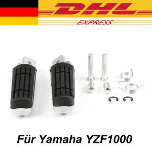 1 Paar Fußrasten vorne für Yamaha BT FJR FZ FZR FZS MT TDM TDR TRX XJ XJR YZF XV