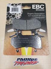EBC - FA409 - Organic Brake Pads 06-17 Harley Davidson Front or Rear Pads
