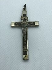 Vintage Crucifix With Skull and Crossbones Germany