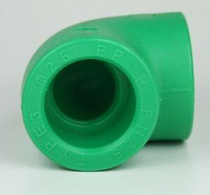 5 x PPR Aqua Plus 90° Winkel mit 32mm Durchmesser, Fusiotherm