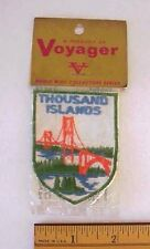 Thousand Islands New York .Voyager Patch  World Wide Collectors Series