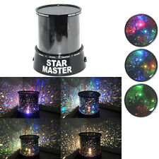 Romantic Colourful Projector Lamp Cosmos Star Brilliant Night Light Decoration