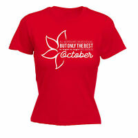 All Women Created Equal Best Born October WOMENS T-SHIRT tee birthday gift