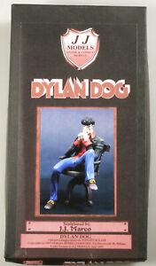 PRL) DYLAN DOG J.J. JJ RESIN MODELS KIT RARO 1/13 SERGIO BONELLI EDITORE 1997 97
