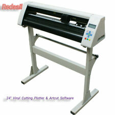 "New! Redsail 24"" Cutting Plotter Vinyl Sticker Cutter With Stand Artcut Software"