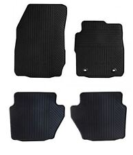 NEW Genuine FORD FIESTA MK7 Rubber Car Mats 2011 Onwards - FRONT & REAR SET of 4