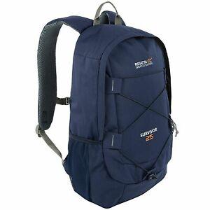 Regatta Adults Survivor III 25 Litre Adjustable Hiking Rucksack - Navy
