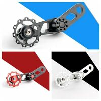 1PC Aluminum Racing Bicycle Chain Tensioner Mountain Bike Single Speed Converter