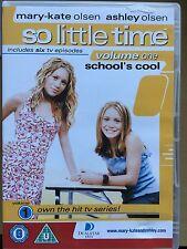 MARY-KATE & Ashley Olsen So Little Time Volume 1 ~2001 SERIE TV UK DVD