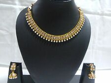 Bollywood Ethnic Gold plated Indian Fashion Jewelry Necklaces Earring