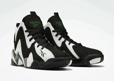 Reebok Kamikaze II Men's Basketball Shoes Black White Utility Green FY7512