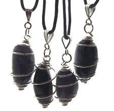 Collares y colgantes de bisutería piedra zafiro
