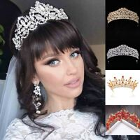 New Bridal Crown Crystal Fashion Tiaras Bride Diadem Wedding Hair Accessories