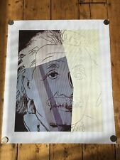 Andy Warhol Albert Einstein Canvas Pop Art Obey Eine Faile