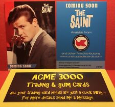 Unstoppable 2017 - THE SAINT (Roger Moore) Trading Card PR3 - NEW & MINT