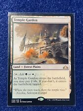 *** Temple Garden *** x1 NM MTG GNA Magic The Gathering Guilds Of Ravnica