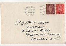 Derby 5 May 1940 Machine Postmark Cover 161c