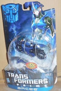 Transformers Prime ARCEE Mosc New Deluxe First Edition Rid Figure