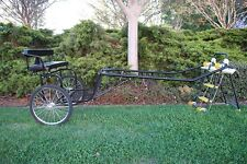 """New EZ Horse Cart-Pony and Cob Size with 60""""-72"""" Curved Shafts"""