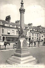 Hastings. The South African War Memorial # 23 by LL / Levy. Black & White.