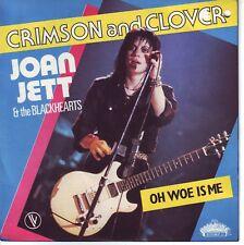 45 TOURS VINYL JOAN JETT / CRIMSON AND CLOVER/FRENCH PR