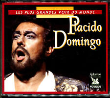 PLACIDO DOMINGO - LES PLUS GRANDES VOIX DU MONDE - COFFRET 3 CD