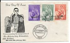 INDIA FDC BIRTHDAY 1963