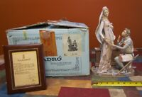 """DAMAGED LLADRO #1458 """" CAMELOT """" KING ARTHUR-LIMITED Ed-RETIRED-w/OB- AS IS"""