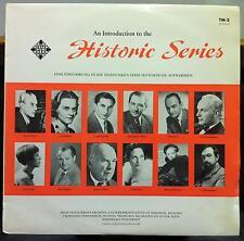 TELEFUNKEN an introduction to historic series LP Mint- TM-2 Black & Gold